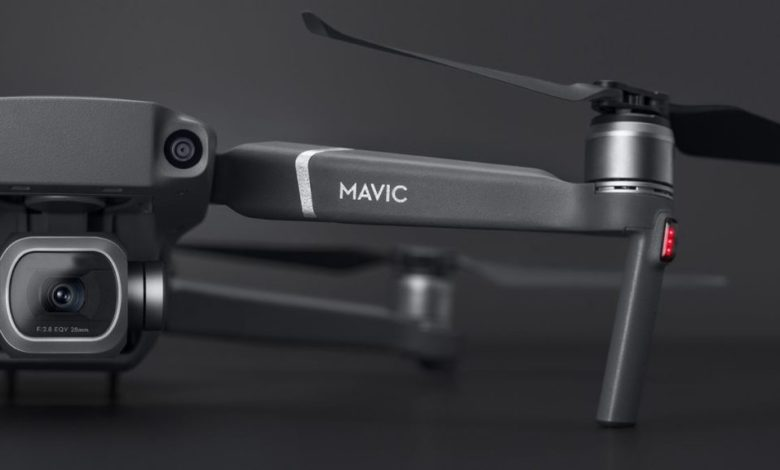DJI New Mavic Air 2 48MP camera and OccuSync 2.0 with a flight time 34Min Max