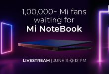 Photo of Mi Notebook Pro 15 (2020)   laptop to launch on June 11