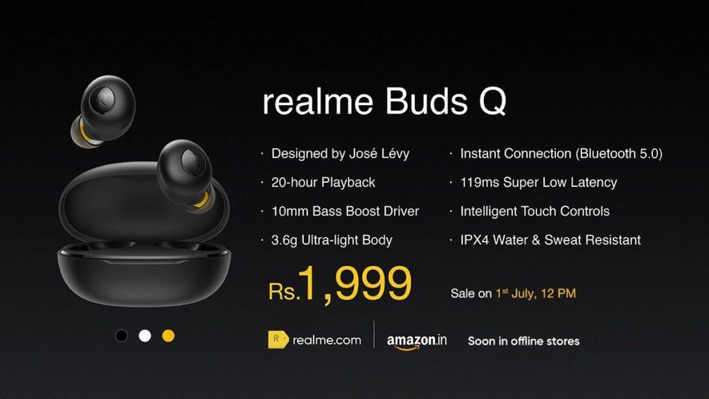 Realme Buds Q price in india