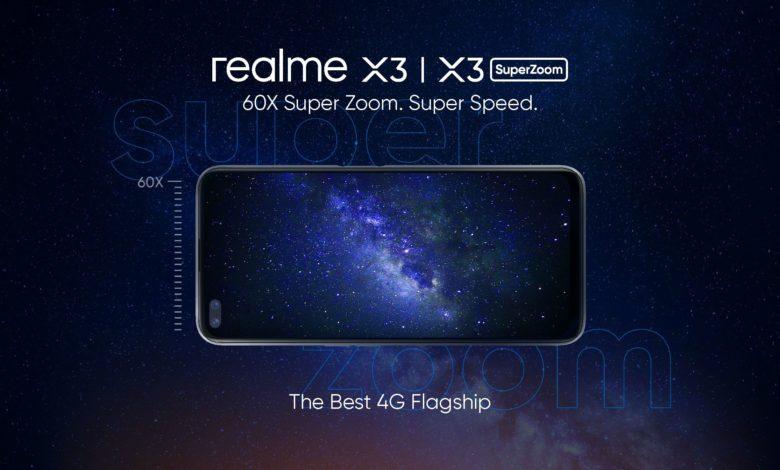 Realme X3, Realme X3 SuperZoom Specifications - Price in India