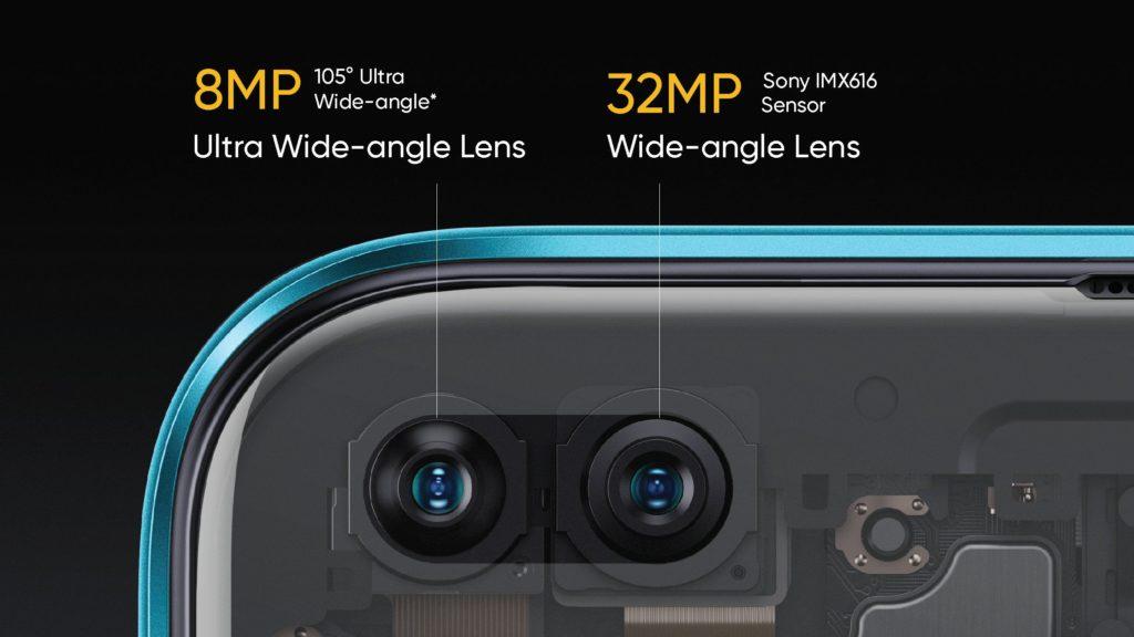 realmex3 superzoom front camera