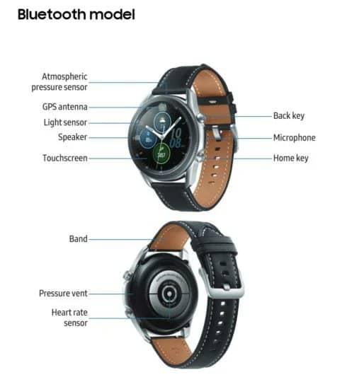galaxy watch 3 Bluetooth 5.0