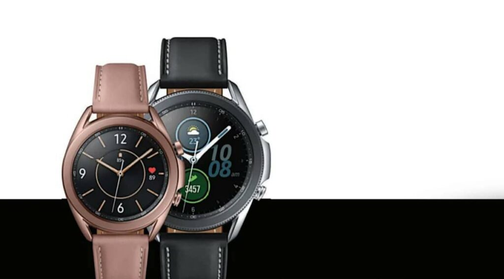 galaxy watch 3 size 45 and 43
