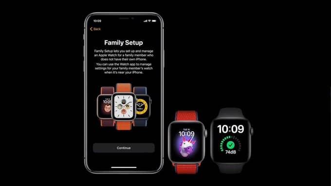 apple family setup