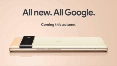 Photo of Google Pixel 6, Pixel 6 Pro officially leaks